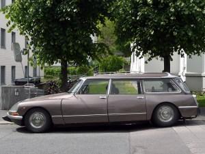 1975 Citroen DS 23 Break Classic french car ID