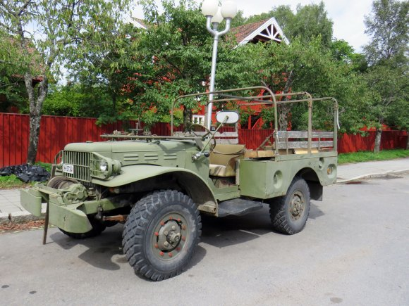 1943 Dodge WC-52 Power Wagon ww2 car oslo