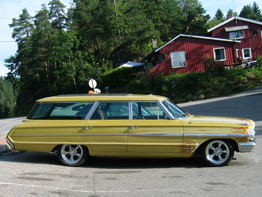 1964 Ford Country Sedan Station Wagon Norway