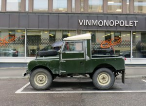 1956 Land Rover 88 pickup oslo clasisc cars