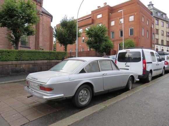1971 Lancia Flavia 2000 Coupé Pininfarina classic car oslo