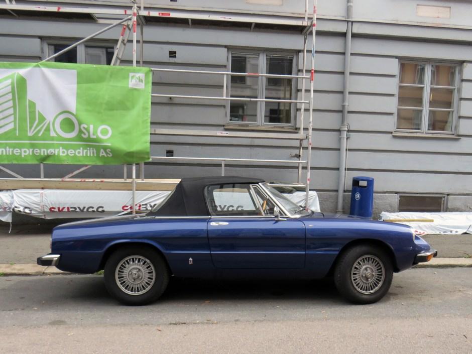 1974 Alfa Romeo Spider Series 2 Italian classic car Oslo Norway