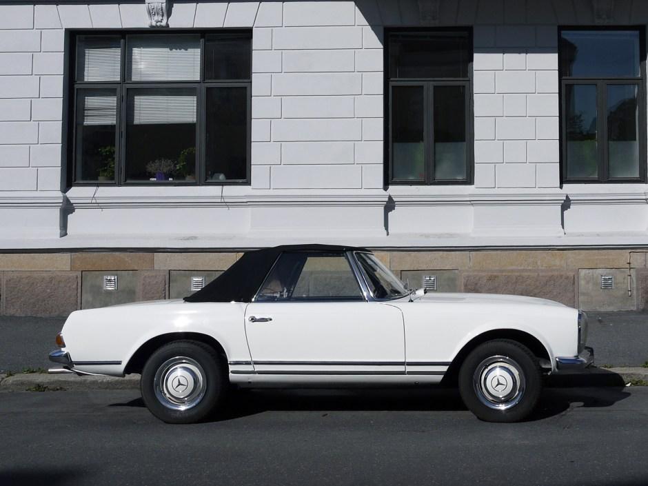 1964 Mercedes-Benz 230 SL W113 Pagoda Roadster Oslo Norway