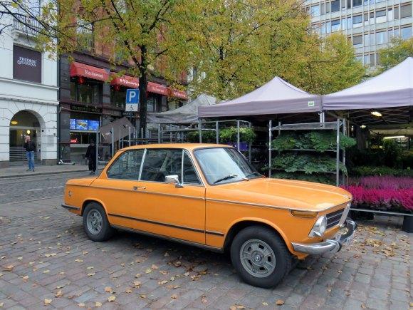 1971 Bmw 2002 tii inka orange