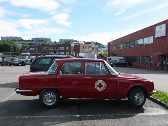 1977 ALFA ROMEO GIULIA NUOVA SUPER 1600