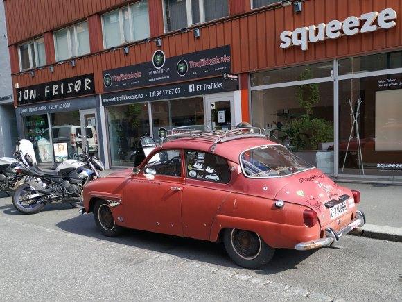 1968 Saab 96 V4 rat rod