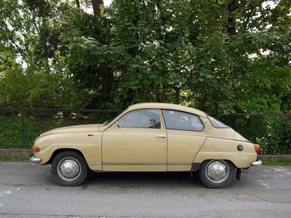 1972 SAAB 96