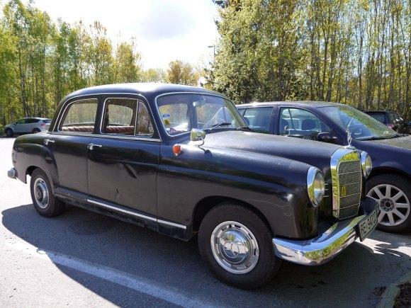 1960 Mercedes-Benz 190 W121 ponton