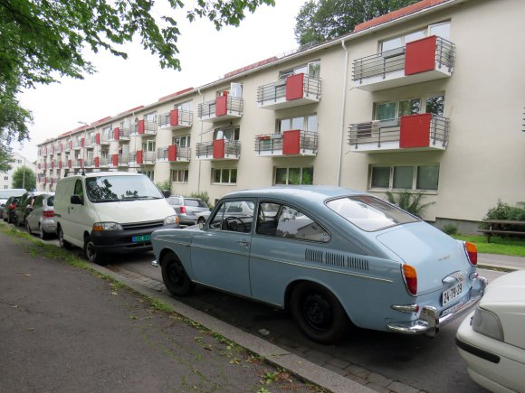 1966 VOLKSWAGEN 1600 TL type 3 fastback coupe