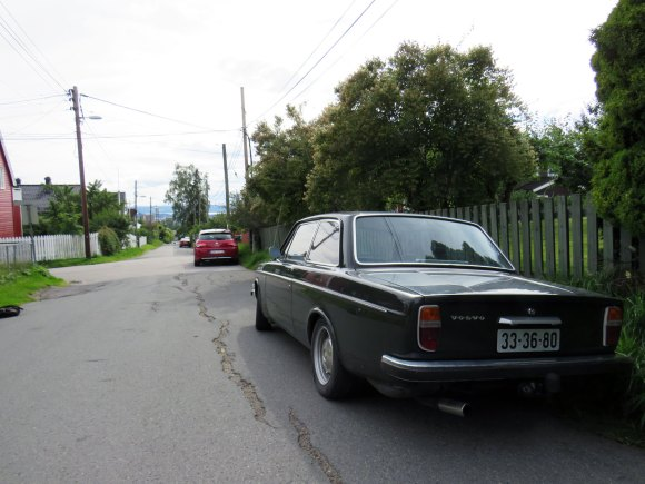 1969 Volvo 142 old parked cars oslo norway