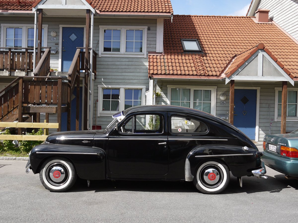 1958 Volvo Pv444 coupe