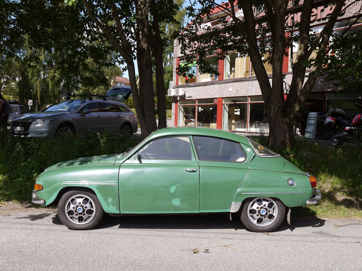 1969 Saab 96 V4 sedan