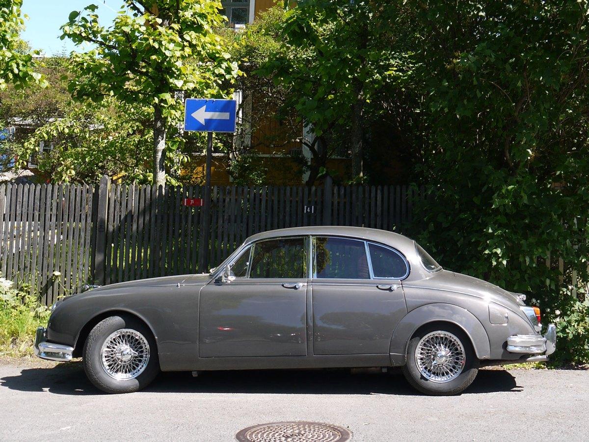 1963 Jaguar Mark 2 3.4 Litre sports sedan