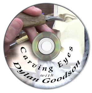 Label of Carving Eyes with Dylan Goodson DVD