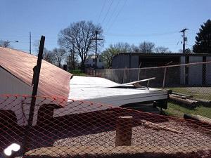 Roley school bridge destroyed2