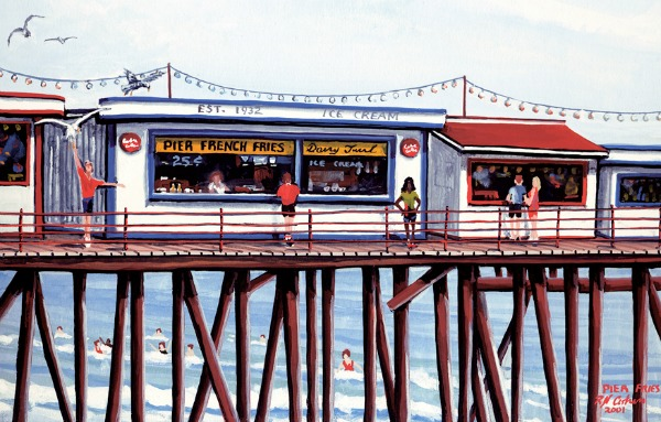 pier fries history