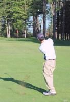 old orchard beach golfer