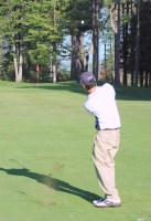 old orchard beach golfer