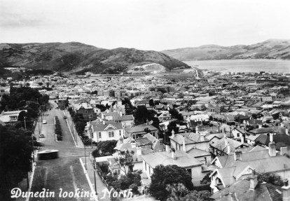 Dunedin looking North