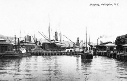 Queens Wharf 1904