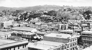 View of Kelburn from Wellington Town Hall