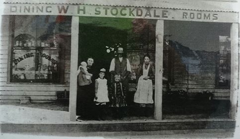 Darraweit Guim General Store initially established and operated by Francis family, later operated by the Stockdale family
