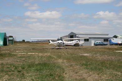 Wallan Airfield maintenance shed