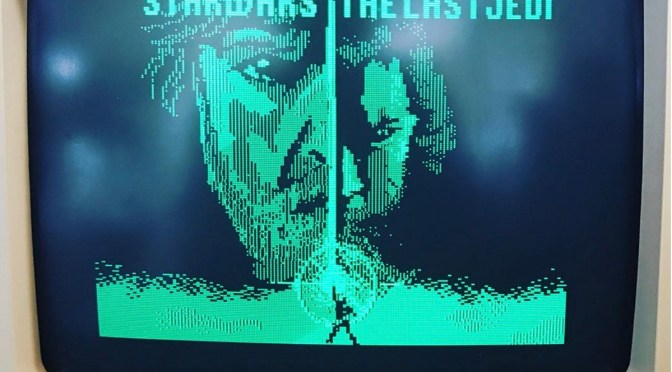 Animador recria trailer de Star Wars num Apple II