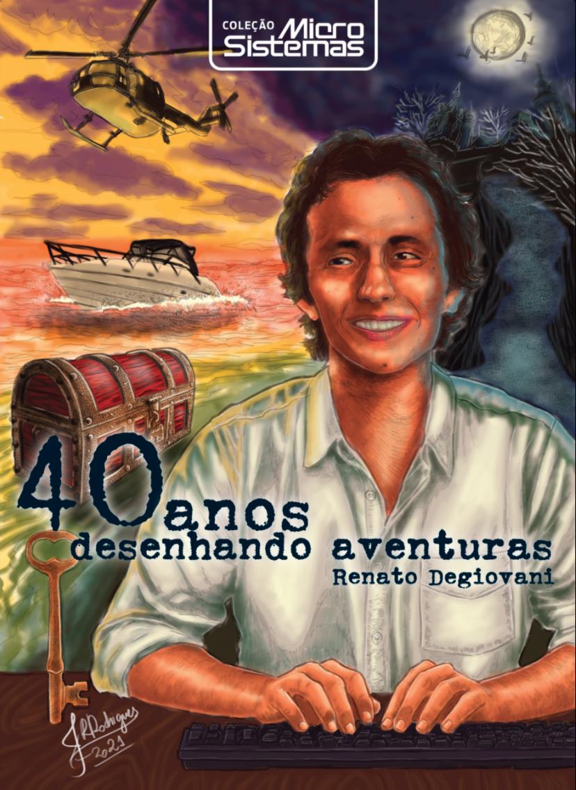 Bitnamic lança livro sobre Renato Degiovani
