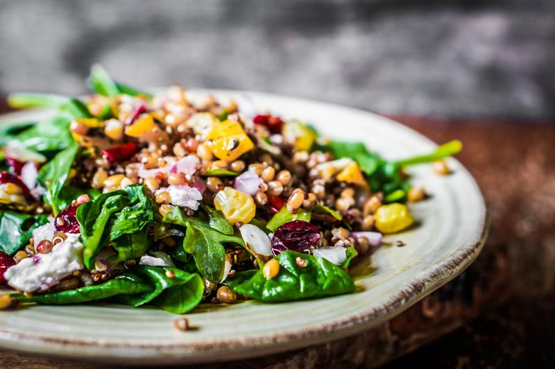 vegan diet salad