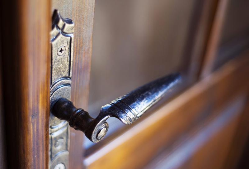when things fall apart - door