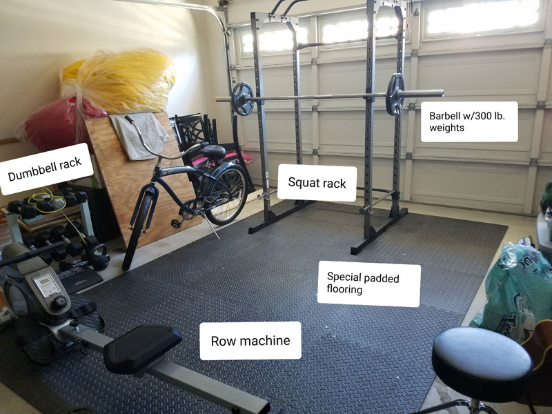 817 How To Build A Home Gym According To Your Budget And Available Space By Nia Shanks Optimal Living Daily