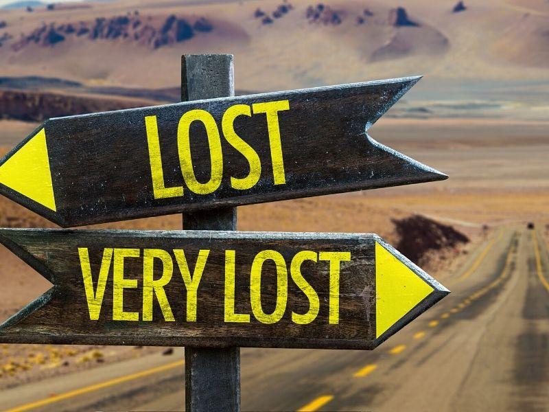 lost as an entrepreneur