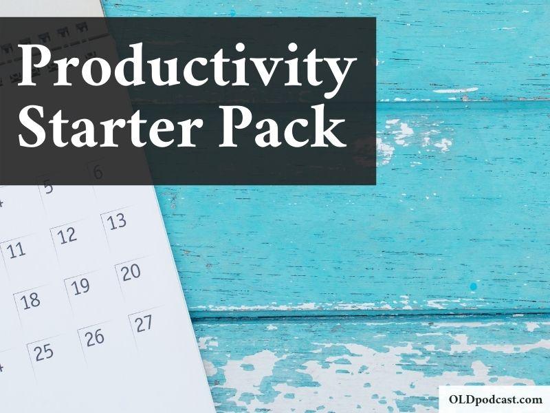 productivity starter pack