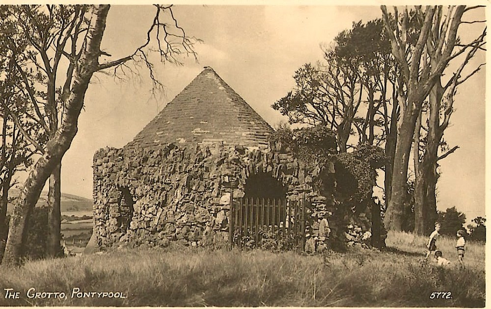 Old photographs of New Inn, The Grotto and West Mon School (1/3)
