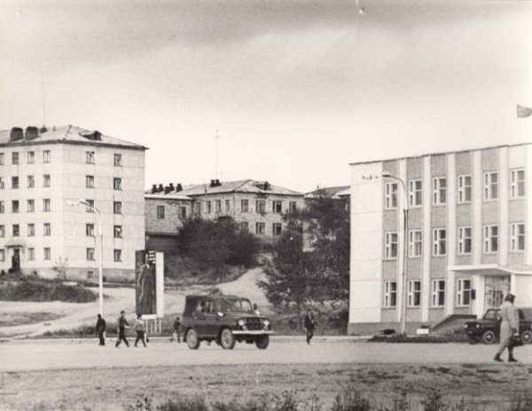 Администрация / Долинск / Исторические фото / Старый Сахалин