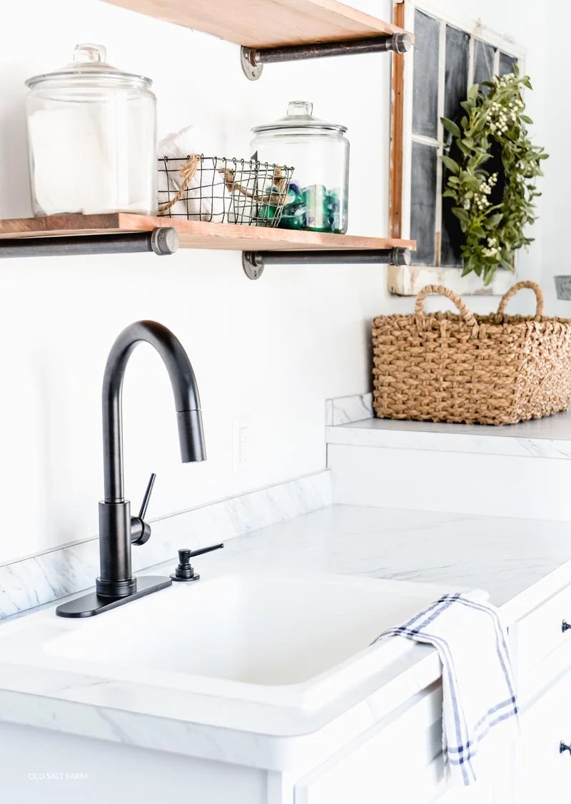 why i love my laundry room faucet old