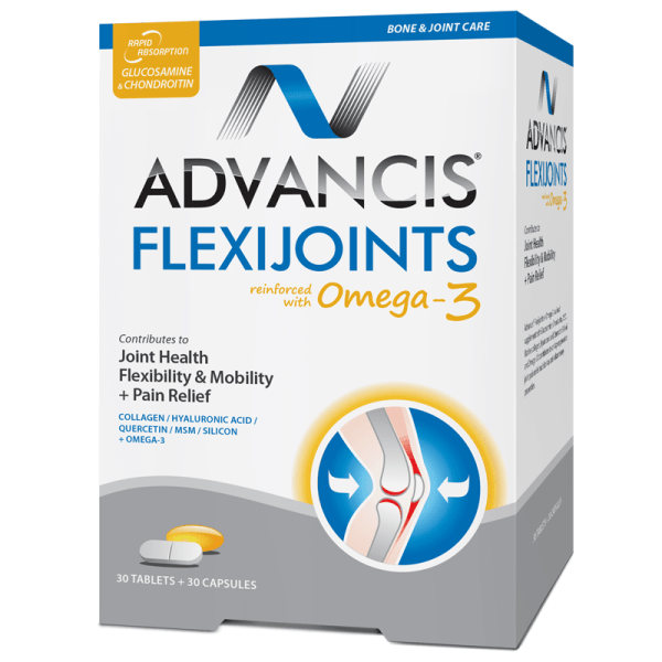 Advancis Flexijoints Omega 3 – 30 tabs + 30 caps –