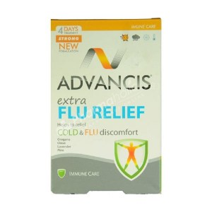 Advancis Extra Flu Relief – 10 Capsules –