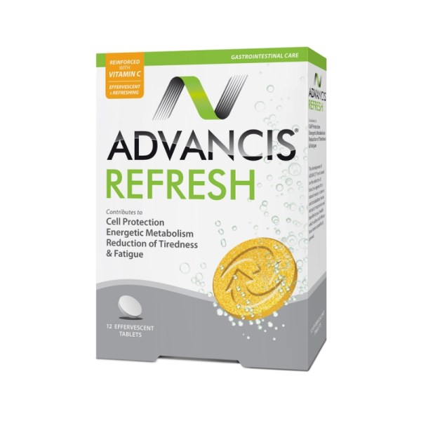Advancis Refresh – 12 x Effervescent Tablets –