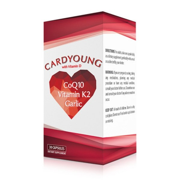 Cardyoung – 30 Capsules –