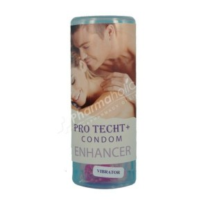 Pro Techt + Condom Enhancer with Vibrator