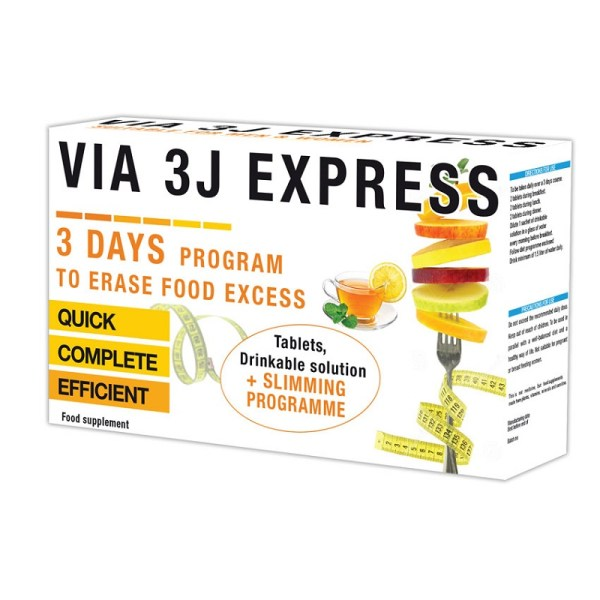 Via 3J Express – 6 Tablets –