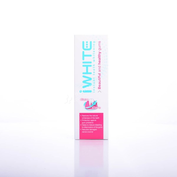 iWHITE instant Teeth Whitening Healthy Gums Toothpaste 75ml