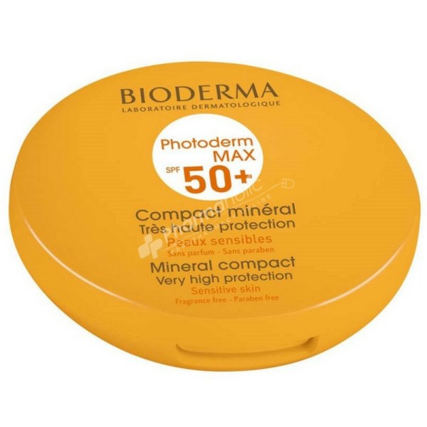 Bioderma Photoderm Max Mineral Compact SPF50+ (Light Color) -10g-