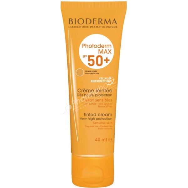 Bioderma Photoderm Max Tinted Cream Golden Color SPF50+ -40ml-