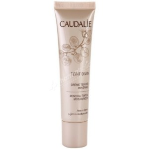 Caudalie Teint Divin Mineral Tinted Moisturizer Light to Medium 30ml