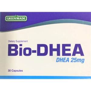 Green Made Bio DHEA 25mg -30 capsules-