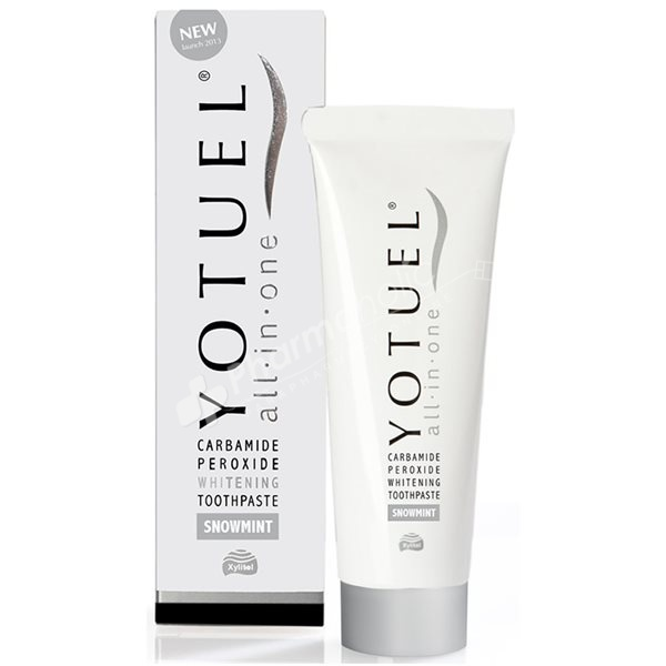 Yotuel All-in-One Whitening Toothpaste Snowmint Flavour -75ml-