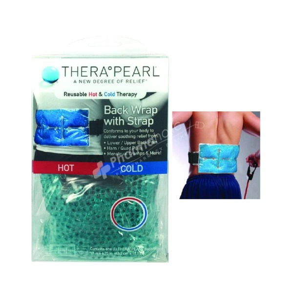 Thera Pearl Back Wrap With Strap